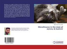 Bookcover of Microfinance in the state of Jammu & Kashmir