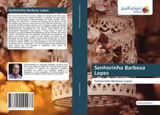 Capa do livro de Senhorinha Barbosa Lopes