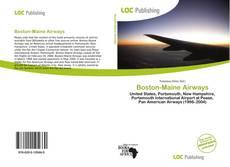 Boston-Maine Airways kitap kapağı