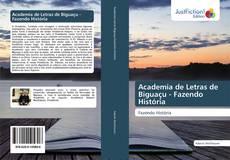 Academia de Letras de Biguaçu - Fazendo História kitap kapağı