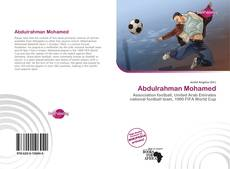 Portada del libro de Abdulrahman Mohamed