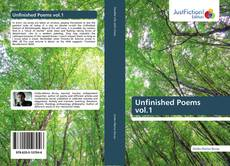 Unfinished Poems vol.1 kitap kapağı