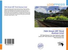 Capa do livro de 76th Street (IRT Third Avenue Line)