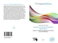 Couverture de Austria–Czech Republic Relations