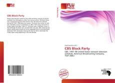 CBS Block Party kitap kapağı