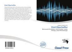 Bookcover of Emil Oberhoffer