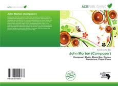 Portada del libro de John Morton (Composer)
