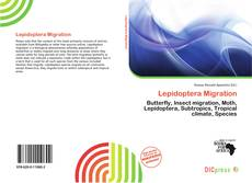 Bookcover of Lepidoptera Migration