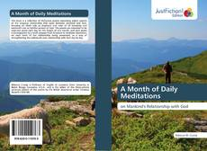 Bookcover of A Month of Daily Meditations