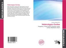 Bookcover of Heterotypic Cortex