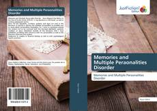 Portada del libro de Memories and Multiple Peraonalities Disorder