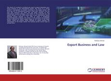 Bookcover of Export Business and Law