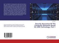 Copertina di Security Assurance Of The Computer Networks Based On SDN Technology, Part 1