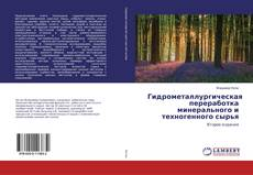 Borítókép a  Гидрометаллургическая переработка минерального и техногенного сырья - hoz