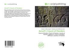 Portada del libro de Arnulf I, Count of Flanders