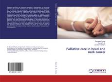 Bookcover of Palliative care in head and neck cancer