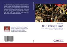 Capa do livro de Street Children in Nepal: