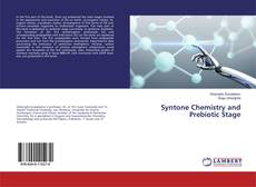 Bookcover of Syntone Chemistry and Prebiotic Stage