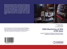 Portada del libro de EDM Machining of AISI 4140 Steel