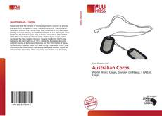 Bookcover of Australian Corps