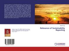 Relevance of Sustainability Reporting kitap kapağı