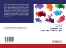 Bookcover of Synthesis and Characterization of Dyes