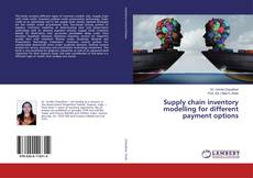 Copertina di Supply chain inventory modelling for different payment options