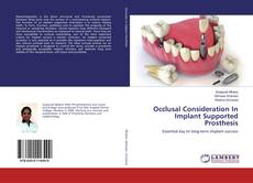 Capa do livro de Occlusal Consideration In Implant Supported Prosthesis