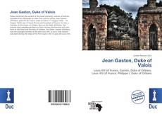Jean Gaston, Duke of Valois kitap kapağı