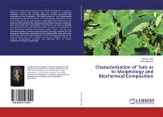 Couverture de Characterization of Taro as to Morphology and Biochemical Composition