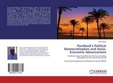 Puntland's Political Democratization and Socio-Economic Advancement kitap kapağı