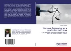 Buchcover von Forensic Accounting as a profession in Cyprus