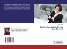 Capa do livro de Gender, Language, Power and Context