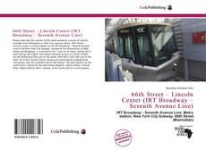 Buchcover von 66th Street – Lincoln Center (IRT Broadway – Seventh Avenue Line)