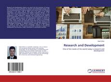 Bookcover of Research and Development