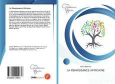 Bookcover of La Renaissance Africaine