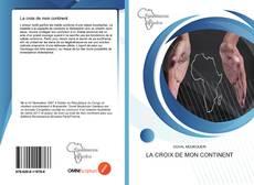 Buchcover von La croix de mon continent