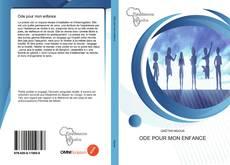 Capa do livro de Ode pour mon enfance