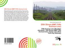 Buchcover von 20th Street (BMT Fifth Avenue Line)