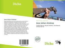 Capa do livro de Jose Julian Jiménez