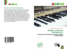 Portada del libro de Hunter Johnson (Composer)
