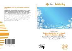 Buchcover von Exxon Mobil Corp. v. Saudi Basic Industries Corp.