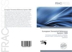 Обложка European Terrestrial Reference System 1989