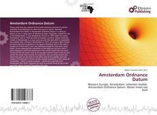 Buchcover von Amsterdam Ordnance Datum