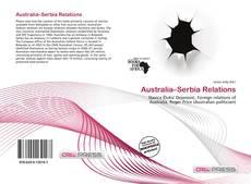 Couverture de Australia–Serbia Relations