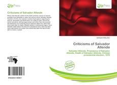 Обложка Criticisms of Salvador Allende