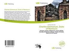 Bookcover of Charles Emmanuel, Duke of Nemours