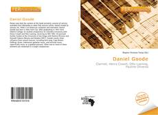 Portada del libro de Daniel Goode