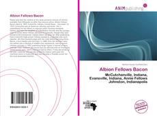 Bookcover of Albion Fellows Bacon