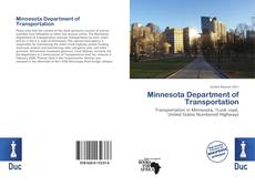 Bookcover of Minnesota Department of Transportation